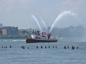 Fireboat John J Harvey North River Historic Ship Society NRHSS New York City
